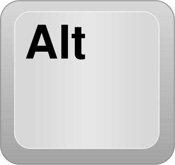 Using the Alt Key in Jenesis